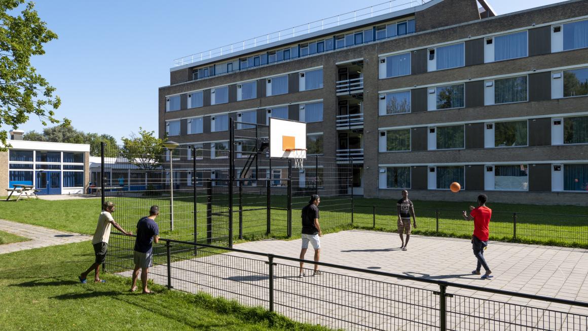 basketbalspelers