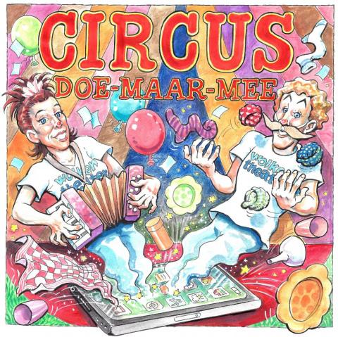Poster van Circus Doe Maar Mee