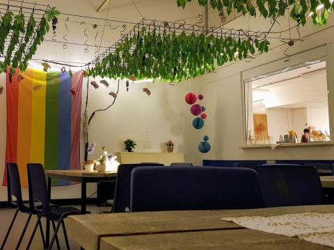 LHBTI-cafe in azc Hoogeveen