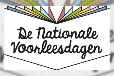 Logo van de Nationale Voorleesdagen