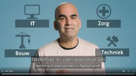 Afbeelding uit de video 'Werken in Nederland'